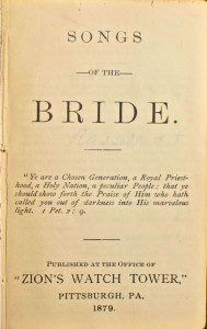 Songs of the Bride