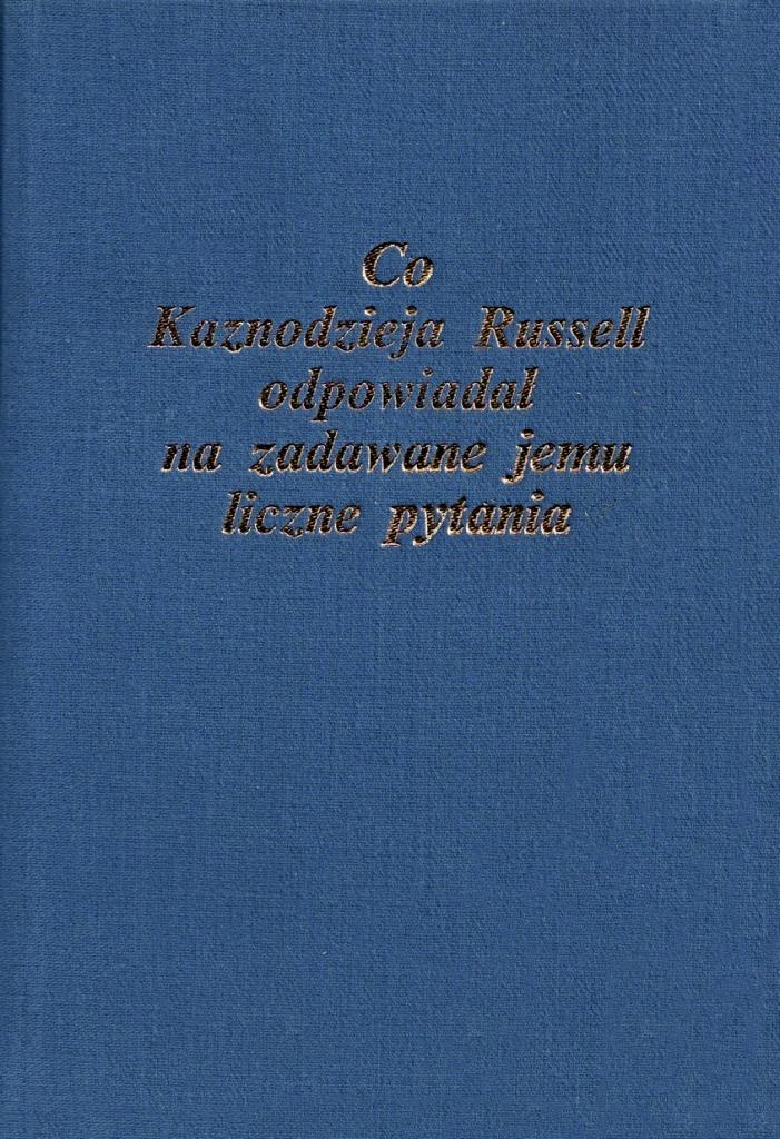 Book Cover: Książka pytań i odpowiedzi