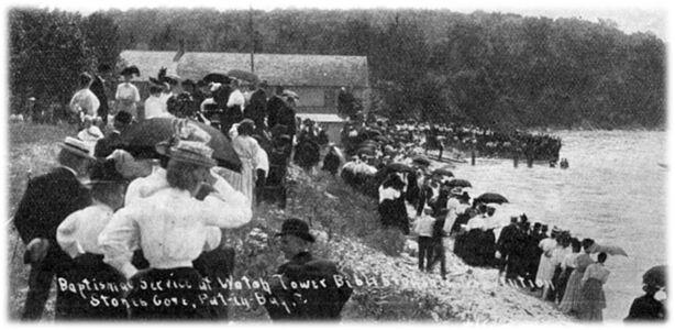 1908 Chrzest