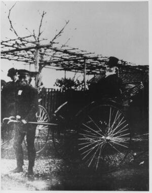 1912 Japan Riksza