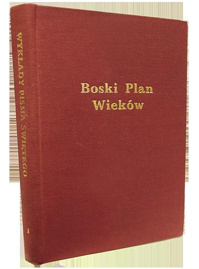 Book Cover: 1) Boski Plan Wieków