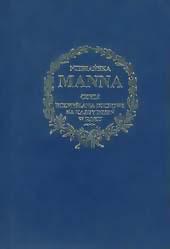 Book Cover: Niebiańska Manna czyli rozmyślania na każdy dzień roku