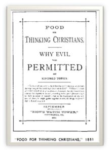 Food for Thinking Christians