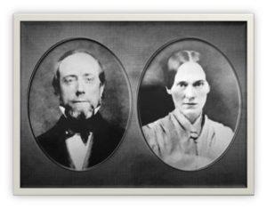 Rodzice Charlesa Russella: Joseph Lytel Russell i Anna Eliza Birney